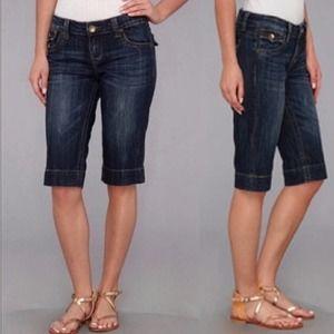 KUT from the Kloth Bermuda Jean Shorts